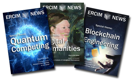 advertise in ERCIM News