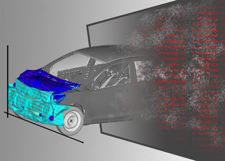 The VAVID project is developing methods to tackle the enormous volumes of data that accumulate at engineering departments, such as data from simulation results.
