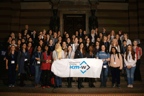ACM-W Europe womENcourage 2015 participants.