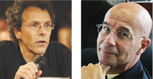 left: Afonso Ferreira (DG CONNECT, European Commission, on leave from the French CNRS), right: Paul Timmers (DG CONNECT, European Commission)