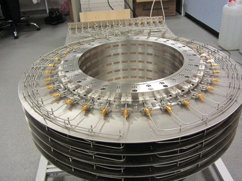 Figure 2: BRIMG1 measurement chamber prototype. Image courtesy of EMTensor.