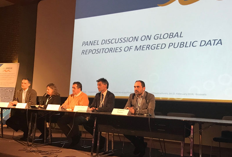 Panel on global repositories of merged public data.