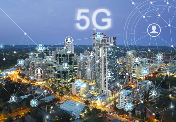 5G will deliver huge improvements in speed, throughput, device deployment, traffic capacity and latency needed by the smart city ecosystem.  Picture: Shutterstock.