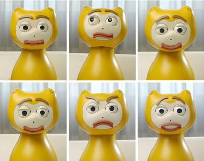 Figure 2: iCat facial expressions.