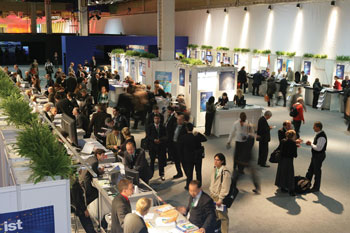 General view of the IST 2006 exhibition.