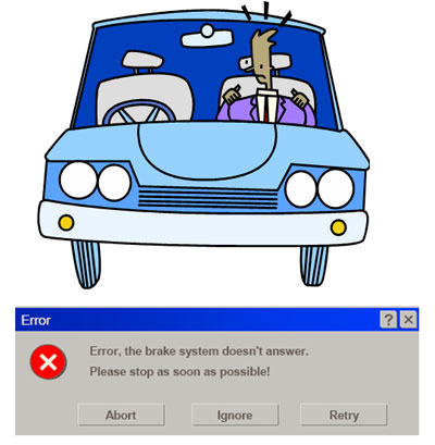 Software often acts on crucial vehicle functions.