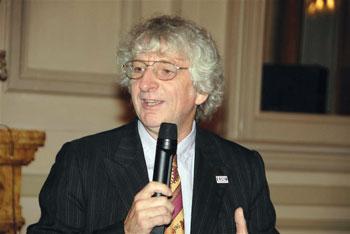 Keith Jeffery at the ERCIM meetings in Nice.