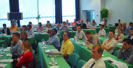 PATAT conference participants.