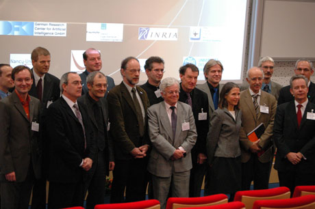 Participants of the signing ceremony.
