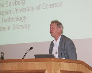 Arne Sølvberg in the panel session