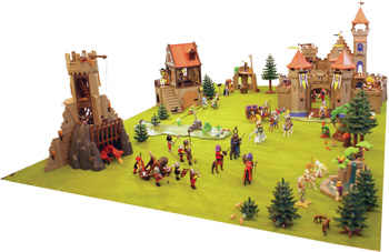 Figure 1: The Augmented Knights' Castle.
