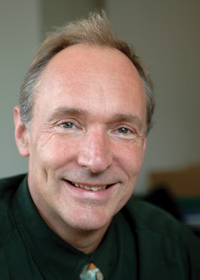 Tim Berners-Lee, director of the World Wide Web Consortium and inventor of the Web.