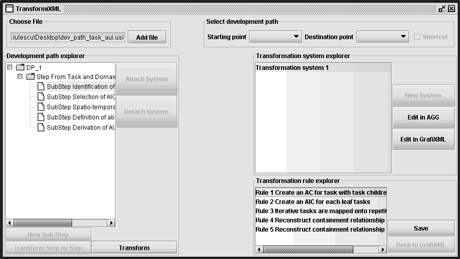 Figure 1: The TransformiXML module.