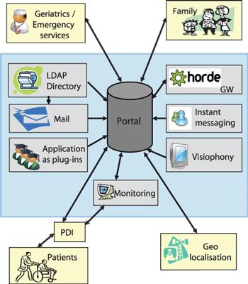 Figure 1: Telemedicine platform.