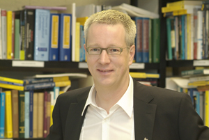 Prof. Günter M. Ziegler. Photo: U. Dahl/TU Berlin