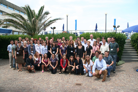 Participants of the Delos Summer School 2008.