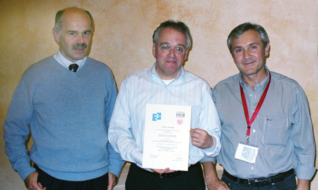 From left: Alessandro Fantechi, Marko van Eekelen and Pedro Merino.
