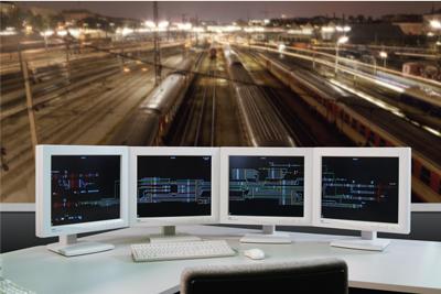 Figure 1: Electronic interlocking for mainline rail.
