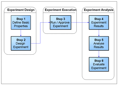 Figure 2: The 6-Step Experiment Process.