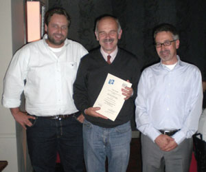 From left: Marco Roveri, Alessandro Fantechi, and Stefan Kowalewski.