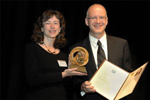 Marie–Paule Cani Winner of the Eurographics Outstanding Technical Contributions Award 2011
