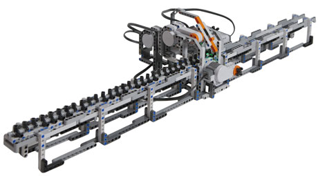 Lego Turing Machine built at CWI.  Picture: CWI.