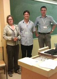 From left to right: Marielle Stoelinga, Yann Régis-Gianas, and Ralf Pinger