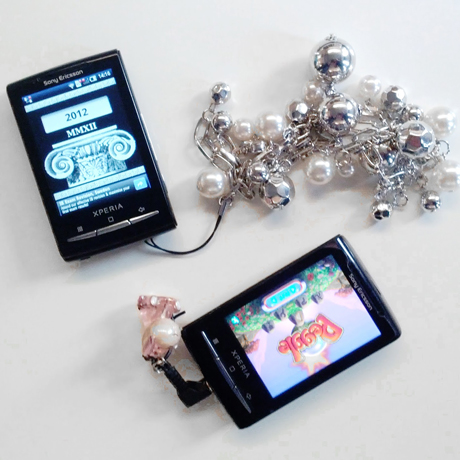 Figure 2: Headphone and jewellery hack to control applications and other content.