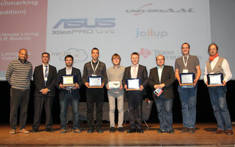 EvAAL 2013 awards ceremony at the AAL Forum