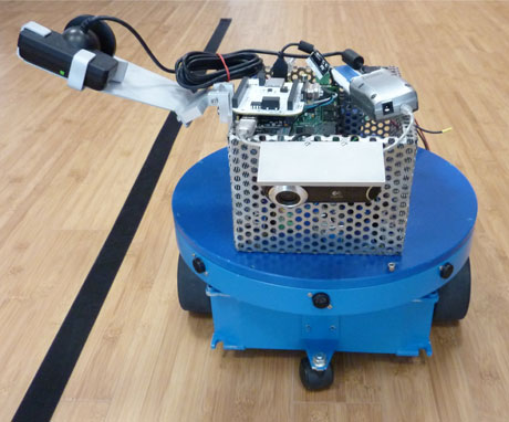 Figure 1: The actual robot adopted for the case study.